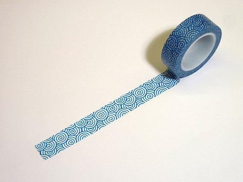 Spiralkringel blau WT-#1417