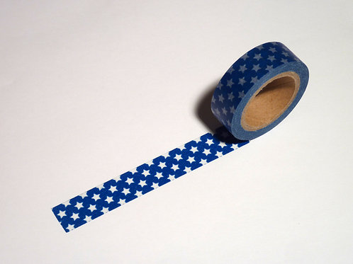 Blue with white stars WT-#1127