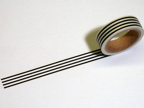 Stripes black/white WT-#3862