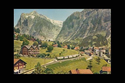 Karte 2284 Grindelwald Wetterhorn