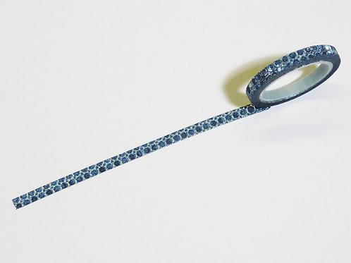 Dots blue WT-#Glitter-S87