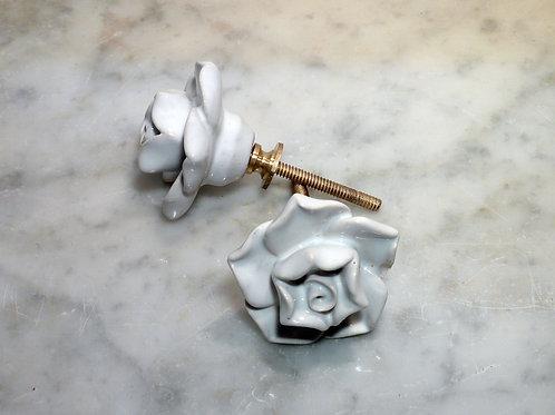 Flower Weiss Golden kn-249