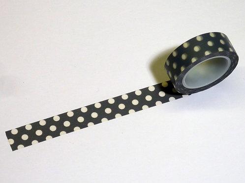 Grey w. white dots WT-#3771