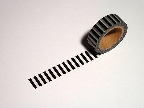 Stripes quer schwarz WT-#1130