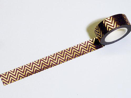 ZigZag gold/purple WT-#9220