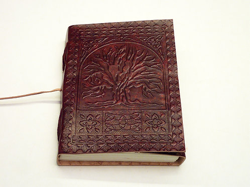 Notizbuch Leder Tree of Life small