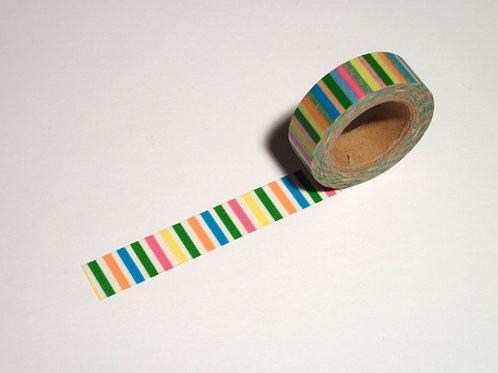 Stripes quer multicolor WT-#23