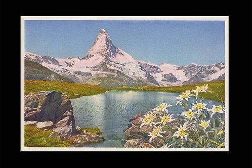Karte A 17999 bei Zermatt, Matterhorn