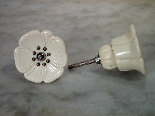 Anemone Ivory Silver KiK2098