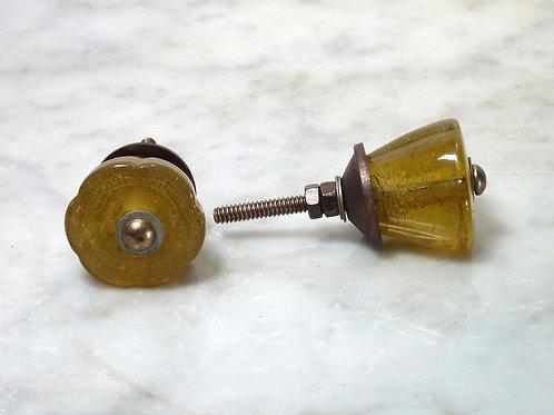 Tulip Glas Mustard Antique TGK-03