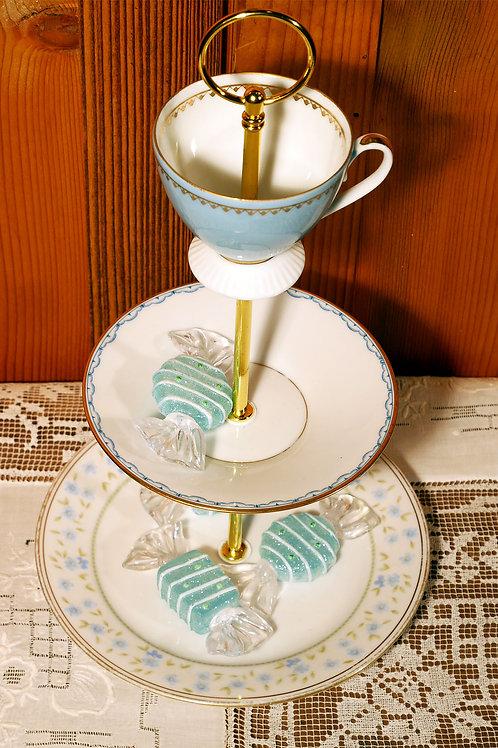 3er m. Tasse Mix himmelblau Nr. 246