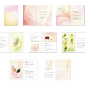 スキンケアブランド「AYURA」のブランドブック制作。