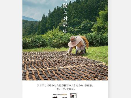 MIXERの名がTCCコピー年鑑に!碁石茶ブランディング広告が掲載されました。