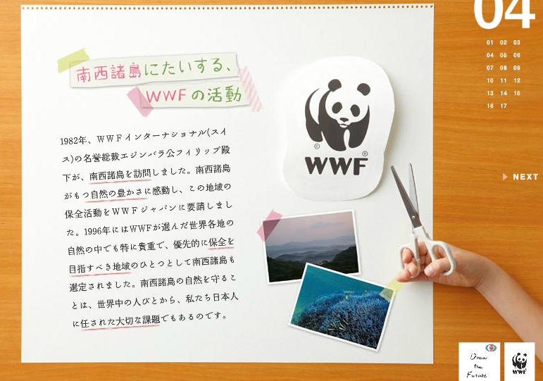 WWF ~Draw the Future~