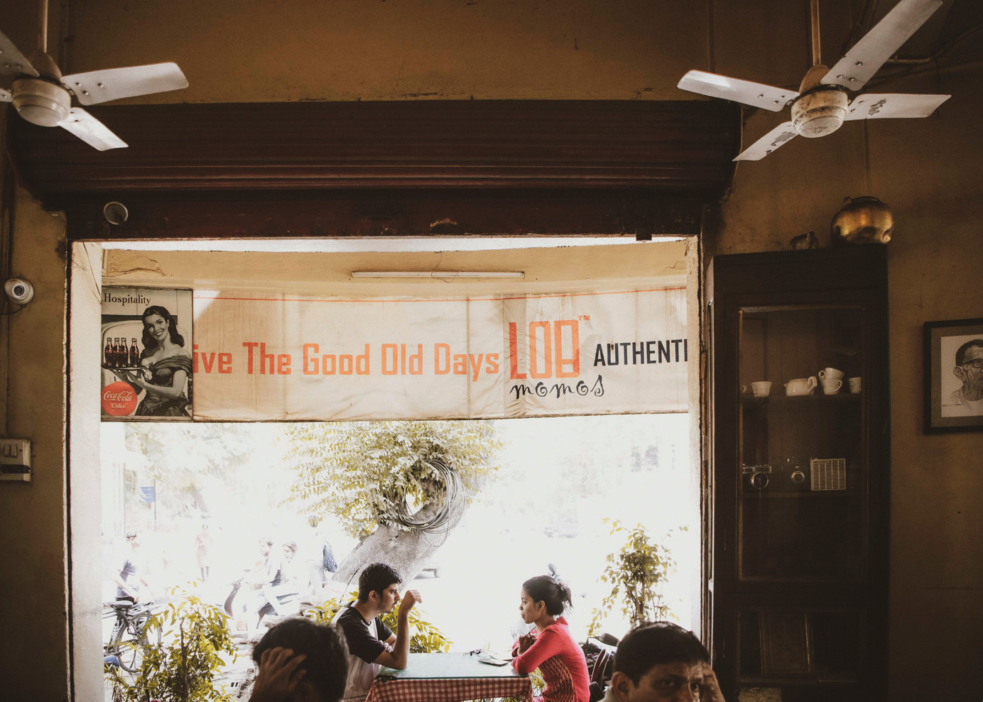 A banner on the glass window of Light of Bharat Cafe reminds customers to 'relive the good old days'. Over the years, the Irani cafes have become more than just cafes; they are nostalgic portals through which you are transported to Bombay of the past.