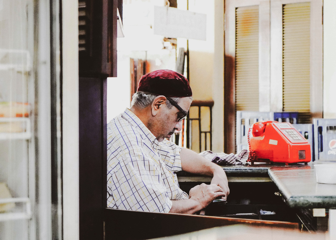 Merwan Kola, one half of the duo that runs Sassanian Boulangerie. After more than a century, the Irani cafe still stands strong at Dhobi Talao, courtesy Kola and Adi Yazdabadi. It was Adi Yazdabadi's grandfather, Rustam K. Yazdabadi, who set up the bakery in 1913. The cafe is named after the Sassanian Empire which ruled pre-Islamic Persia, from 224 to 651 AD, before the Arab invasion in the seventh century.