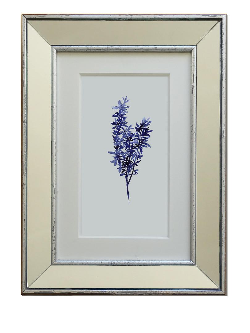 Flores azules II