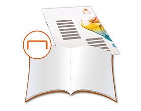 Broschüren mit Rückendrahtheftung - jetzt drucken - Angebot anfragen