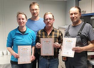 Auszeichnungen für langjährige Mitarbeit