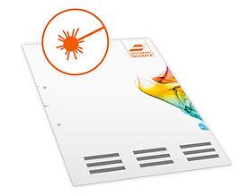 Laser SD-Papier drucken, gestalten - Angebot anfordern!
