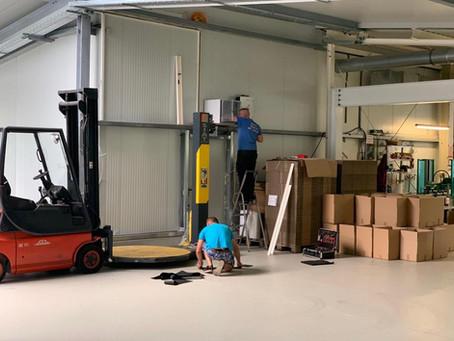 Bautagebuch - Erweiterung unserer Produktionsstätte - Druckerei Schütz GmbH