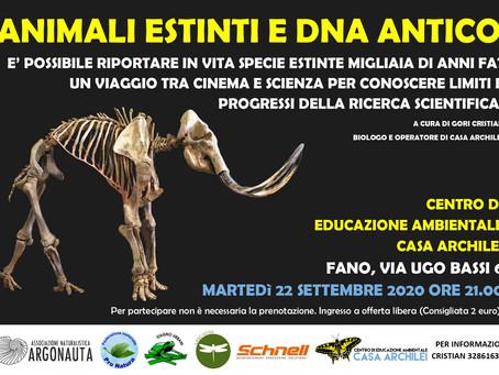 ANIMALI ESTINTI E DNA ANTICO