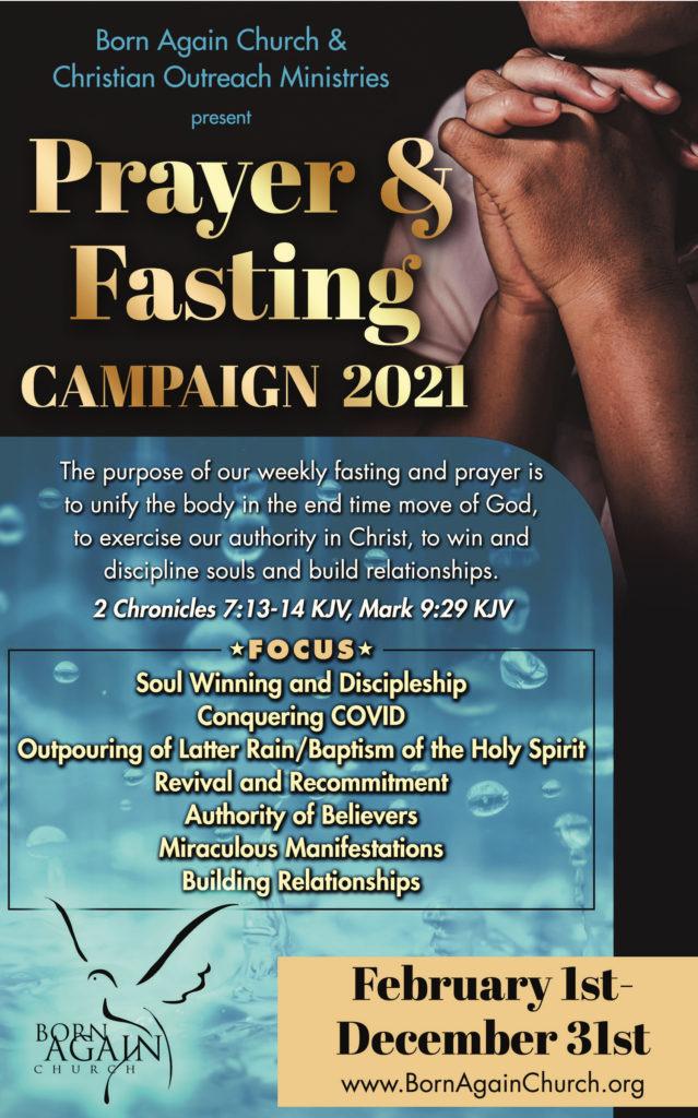 Prayer & Fasting Campaign 2021