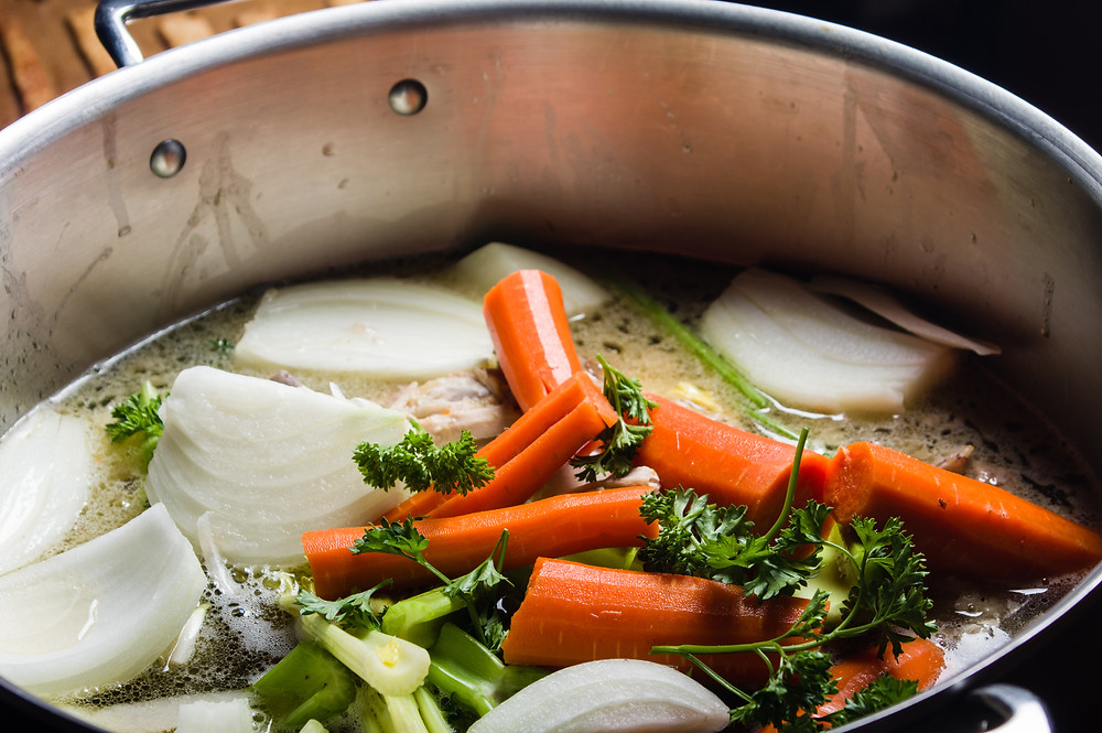 Vegetable Stock is essential along with acupuncture, herbal medicine for your health.