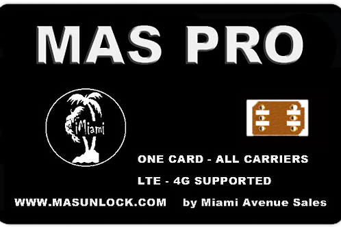 MAS PRO UNLOCK FOR iPHONES 6S THROUGH 12 PRO MAX (All iOS 14 Devices Supported)