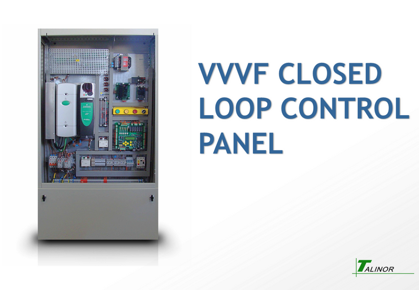 VVVF Closed Loop Control Panel