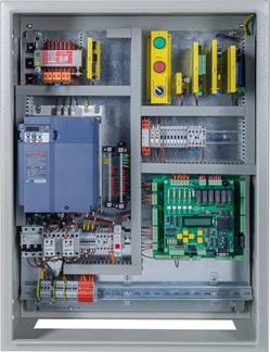 Talinor elevtor Hydraulic control panel.