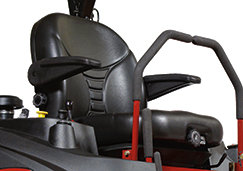 SUSPENSION MOWER SEAT