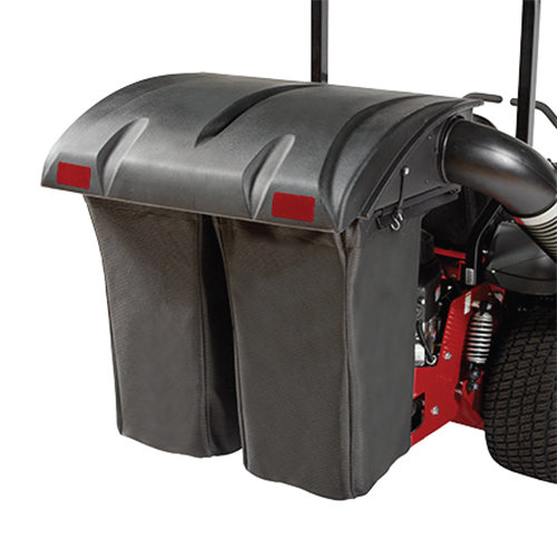 DOUBLE BAG HARD TOP GRASS CATCHER