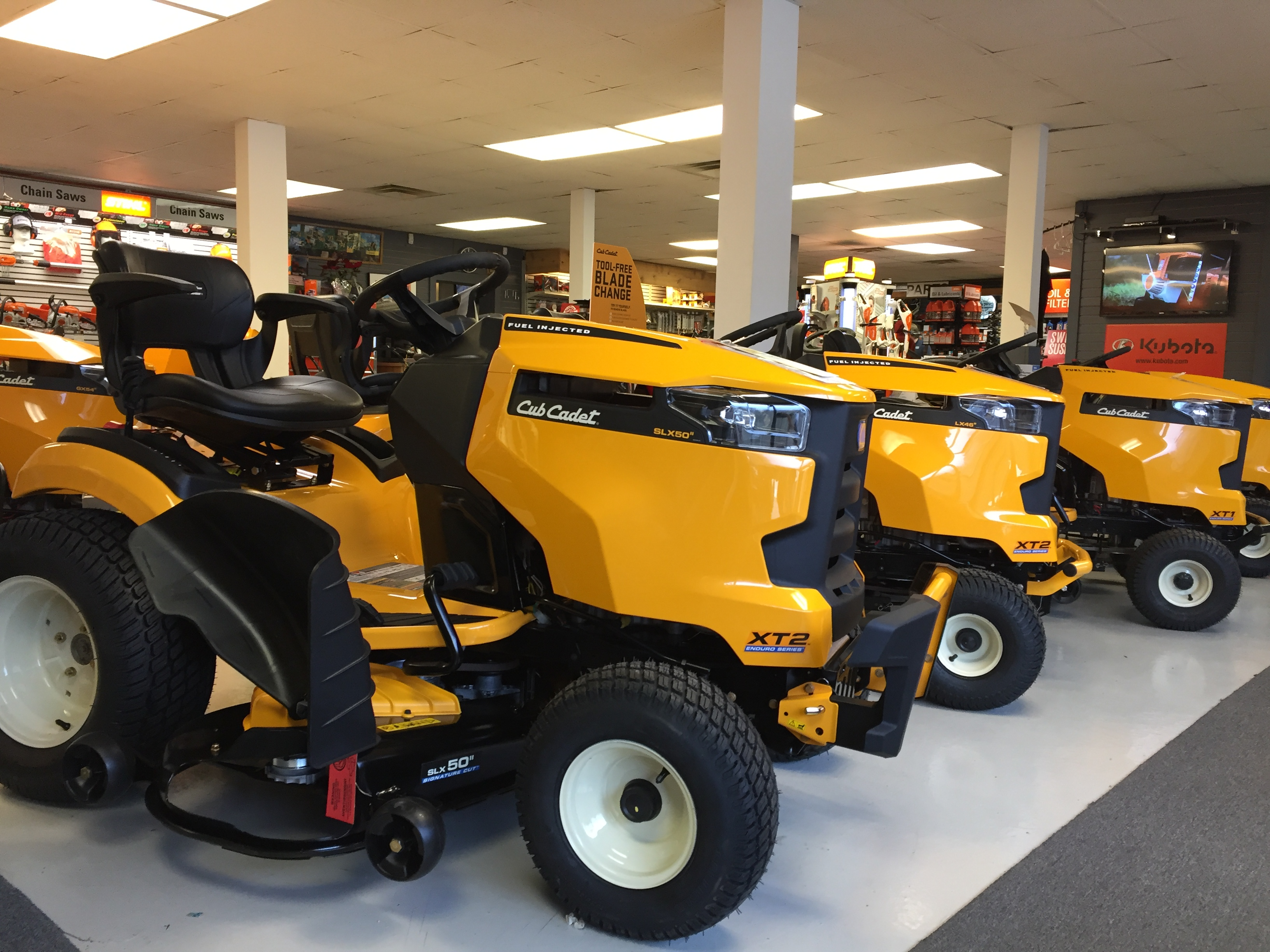 Cub Cadet Enduro Series in our showroom
