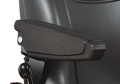 RIDING MOWER ARM RESTS