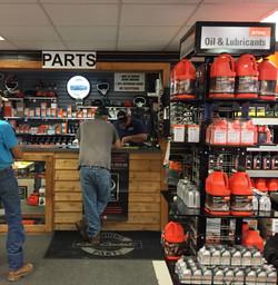 Our Parts Department