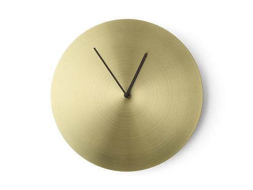 Nástěnné hodiny Norm Wall Clock, mosaz, Menu