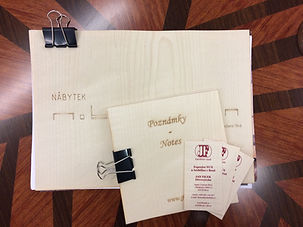 Veneer promotion materials