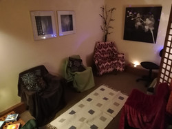 Meditation space at Hydrotherapy centre, Newtown.