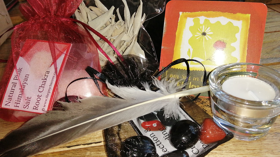 Grounding and Protection Mini Ritual in a box