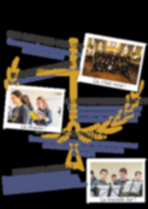étudiants chant polyphonique église album concert