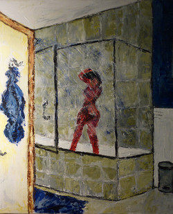 Nude in Shower