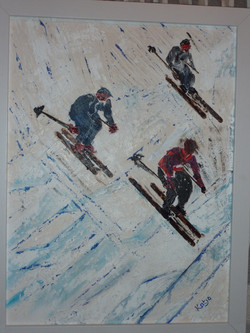 Skiers (sold)
