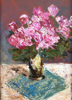 Pink Flowers (sold)