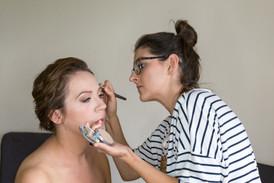 Makijaż ślubny u klientki