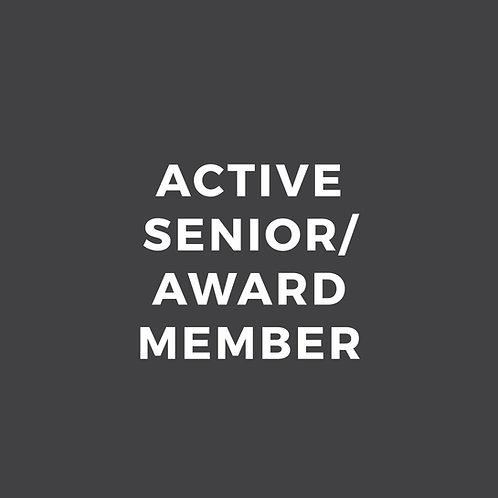 Active Senior/Award Member