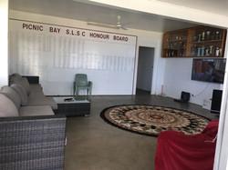 MI clubhouse lounge room