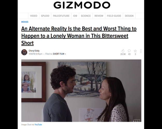 "Gizmodo write-up of ""The Sweetening"""