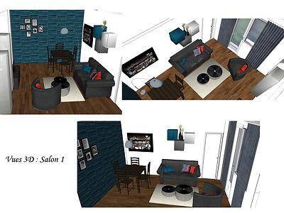décoration, aménagement chambre et salon, cocoon