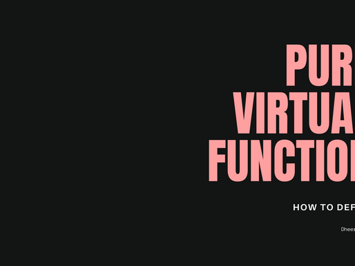 Pure virtual function in C++: Is it possible to define a Pure Virtual Function in C++?